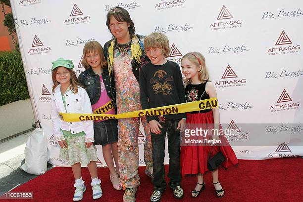 Jean Francois and guests during 2007 CARE Awards Presented by the Bizparentz Foundation at Universal Studios Hollywood in Universal City CA United...