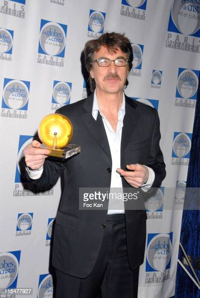 Jean Francois Cluzet during Paris Premiere Les Globes de Cristal 2007 Awards Ceremony February 15 2007 in Paris France