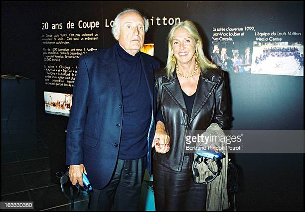 Jean Francois Deniau and his wife Marie Dabadie 150 anniversary of America's Cup