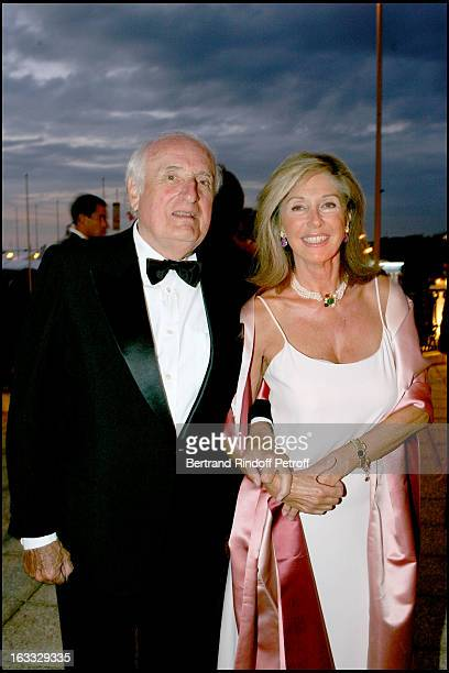 Jean Francois Deniau and Marie Dabadie at The Grand Bal De Deauville Held At Casino De Deauville In Aid Of Care International