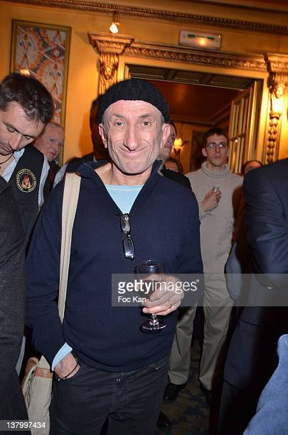 Jean Francois Derec attends the Procope Des Lumieres' Literary Awards First Edition at the Procope on January 30 2012 in Paris France
