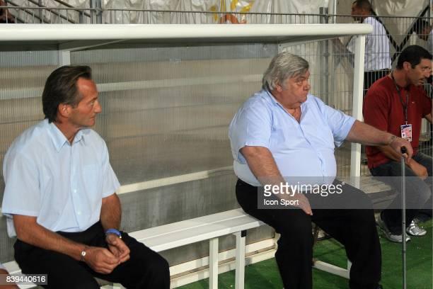 Jean Francois DOMERGUE / Louis NICOLLIN Montpellier / Istres 4eme journee de Ligue 2