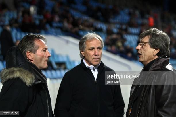 Jean Francois DOMERGUE / Rene GIRARD / Michel MEZY Lille / Montpellier 30e journee Ligue 1 Stadium Nord Villeneuve d'Ascq