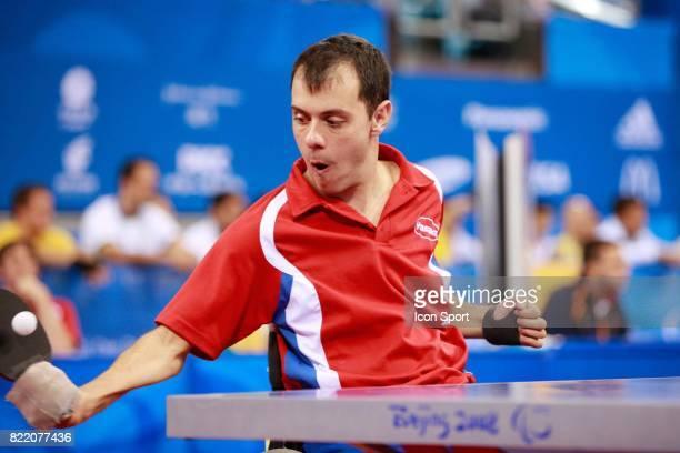 Jean Francois DUCAY Tennis de Table Jeux Paralympiques de Pekin 2008