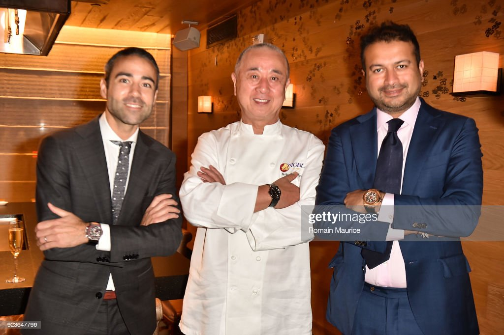 HUBLOT Dinner Honoring Chef Nobu Matsuhisa