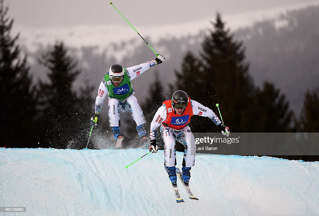 FIS Freestyle Ski & Snowboard World Championships - Men's and Women's Ski Cross : News Photo