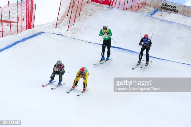 Jean Frederic Chapuis of France competes Marco Tomasi of Italy competes Daniel Bohnacker of Germany competes Siegmar Klotz of Italy competes during...
