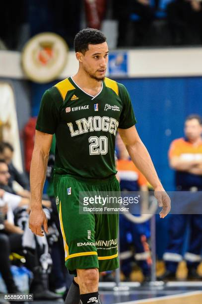 Jean Frederic Morency of Limoges during the Pro A match between Levallois and Limoges on October 7 2017 in LevalloisPerret France