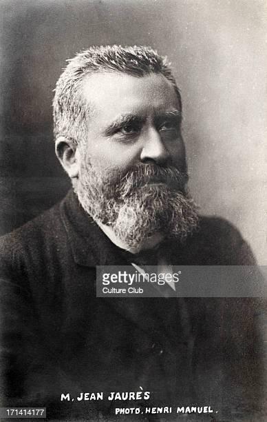 JAURÉS Jean French socialist leader 1859 1914