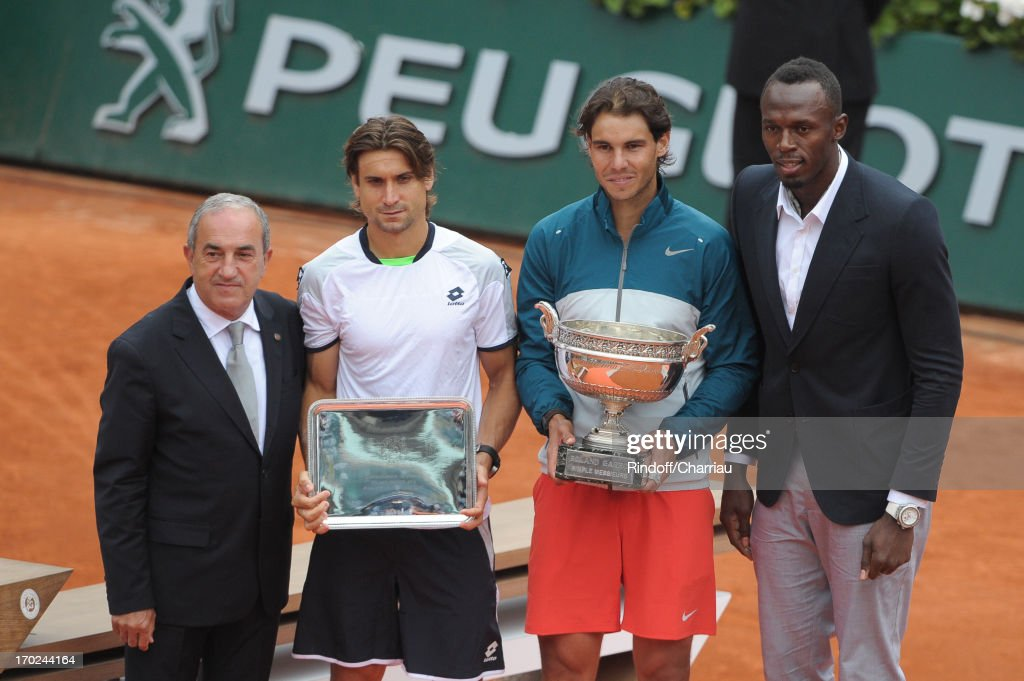 Celebrities At French Open 2013 - Day 15 : News Photo