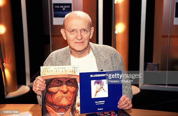 Jean Giraud in Paris France on January 11th 2000