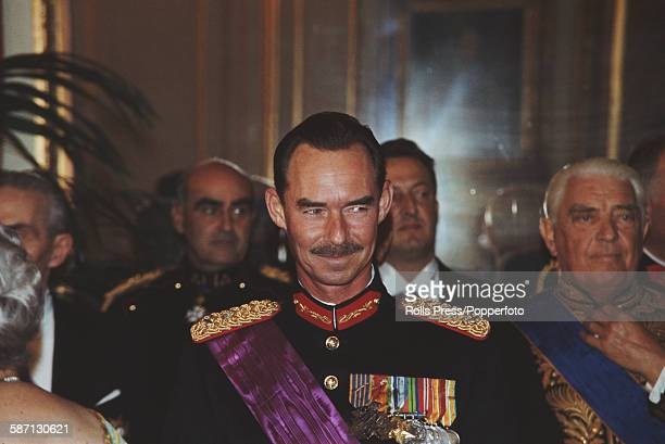 Jean Grand Duke of Luxembourg pictured attending an official engagement circa 1968