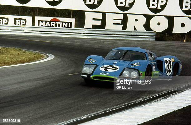 Jean Guichet/Nino Vaccarella Matra MS630 finished 5th