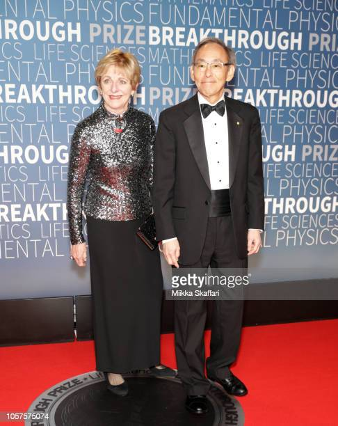 Jean H Chu and Steven Chu attend the 2019 Breakthrough Prize at NASA Ames Research Center on November 4 2018 in Mountain View California