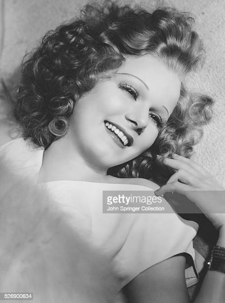 Jean Harlow has dyed her hair brown for her new costarring role with Spencer Tracy in Riffraff