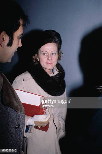 Jean Harris in the Westchester County Court with one of her lawyers, Victor Grossman. Jean Harris was accused and convicted of murdering her former...