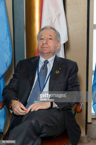 Jean Henri Todt attends special event for Forum on Sustainable Development organized by Monaco Permanent Mission
