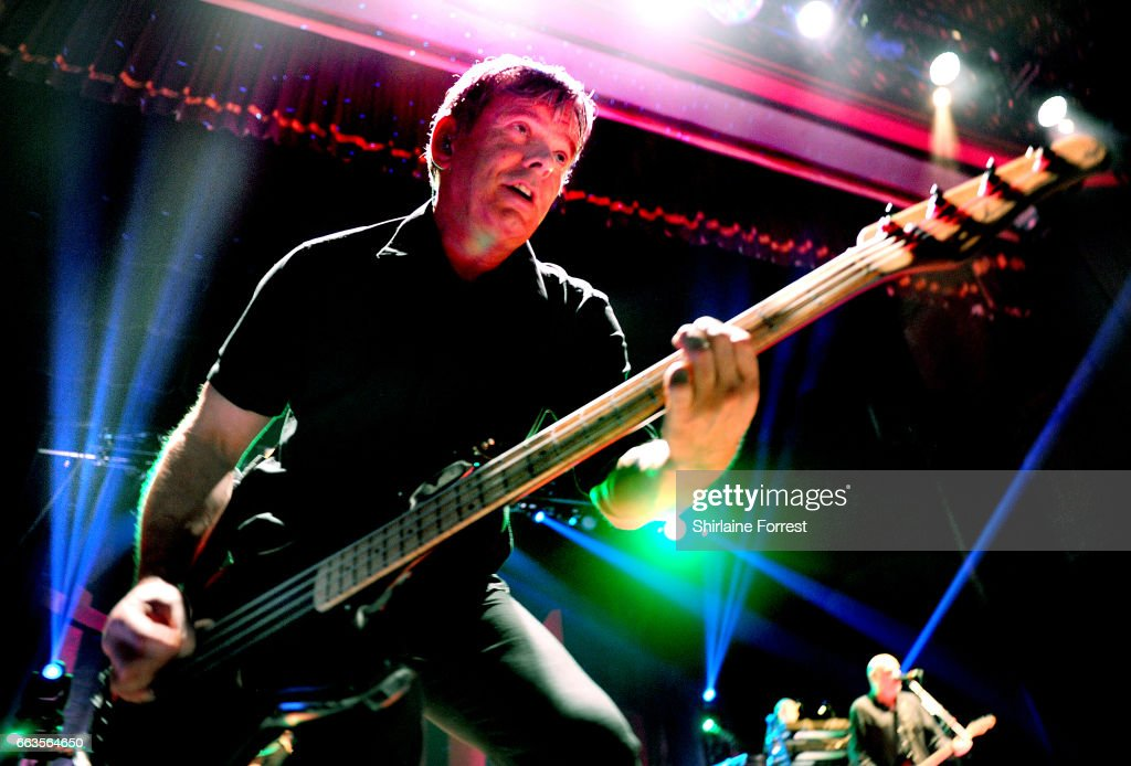 Jean Jacques Burnel of The Stranglers performs at O2 Apollo Manchester on April 1, 2017 in Manchester, United Kingdom.