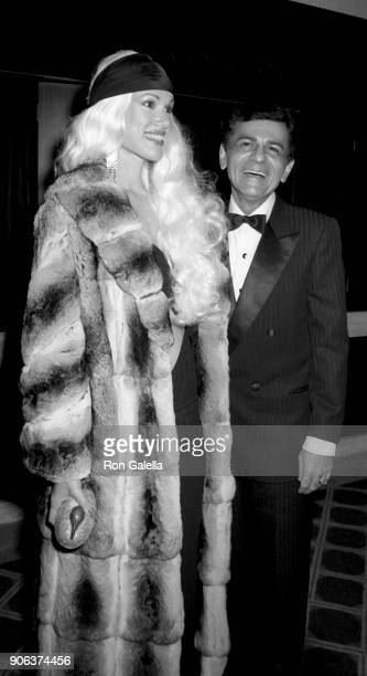 Jean Kasem and Casey Kasem attend Barbara Mandrell Concert Party on February 28 1986 at the Sheraton Premiere Hotel in Los Angeles California