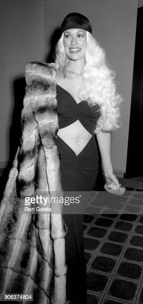 Jean Kasem attends Barbara Mandrell Concert Party on February 28 1986 at the Sheraton Premiere Hotel in Los Angeles California