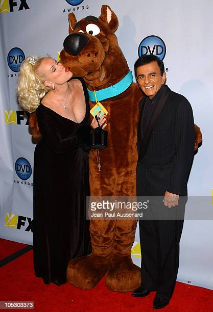 Jean Kasem, Scooby Doo and Casey Kasem during The 3rd Annual DVD Exclusive Awards at The Wiltern Theater LG in Los Angeles, California, United States.