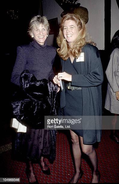 Jean Kennedy Smith and Robin Elizabeth Kennedy Lawford