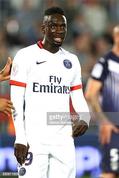 Jean Kevin Augustin of Paris SG during the French Ligue 1 match between FC Girondins de Bordeaux and Paris SaintGermain at Nouveau Stade de Bordeaux...