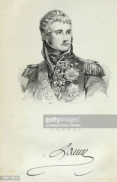Jean Lannes Due de Montebello French soldier one of Napoleon's commanders won battle of Montebello contributed to victories at Marengo Austerlitz...