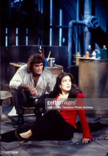 Jean Le Clerc Lisa Peluso appearing on the Walt Disney Television via Getty Images soap opera 'Loving'
