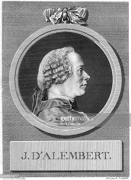Jean le Rond d'Alembert French philosopher mathematician and encyclopedist late 18th century D'Alembert collaborated with Denis Diderot on the...
