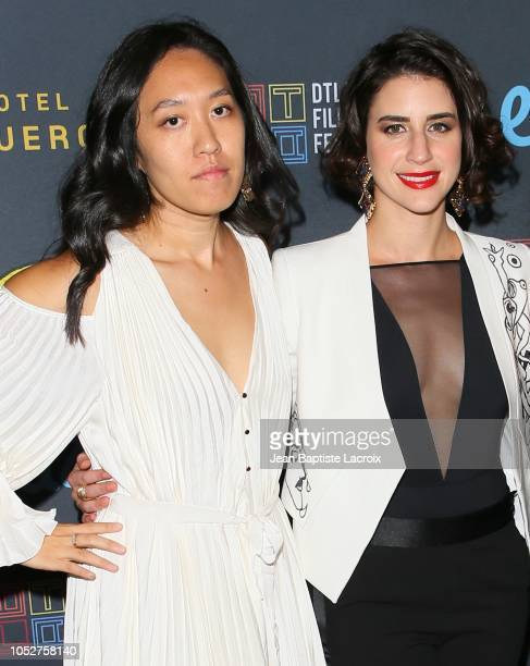Jean Lee and Maia Nikiphoroff attend the 2018 Downtown Los Angeles Film Festival - 'All Creatures Here Below' 'Original Sin' And Perception' Press...