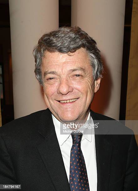 Jean Louis Borloo attends the Jean Paul Moureau book signing at Park Hyatt Paris Vendome on October 16 2013 in Paris France