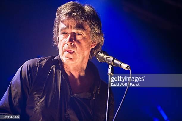 Jean Louis Murat performs at La Boule Noire on March 31 2012 in Paris France
