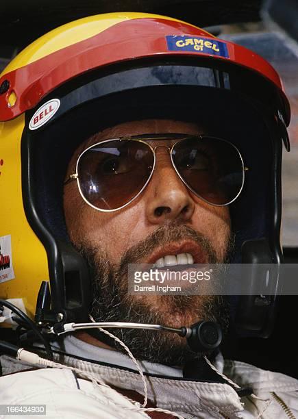 Jean Louis Ricci of France driver of the Blaupunkt Sachs Joest Racing Porsche 962C during the Autosport BRDC Supersprint of Silverstone sportscar...