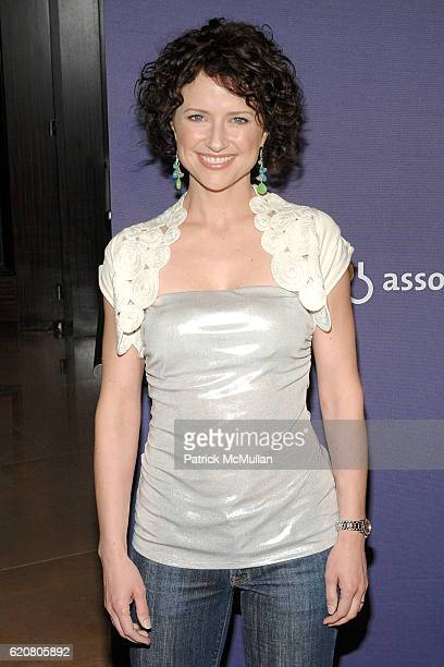Jean Louisa Kelly attends The Alzheimer's Association's 16th Annual A Night At Sardi's at Beverly Hills Hilton on March 5 2008 in Beverly Hills CA