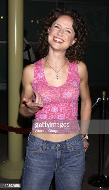Jean Louisa Kelly during Below Premiere at Arclight Theater in Hollywood California United States