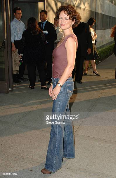 Jean Louisa Kelly during CBS Summer 2005 Press Tour Party Arrivals at Hammer Museum in Westwood California United States