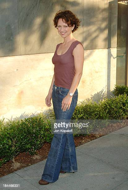 Jean Louisa Kelly during CBS Summer 2005 Press Tour Party at Hammer Museum in Westwood California United States