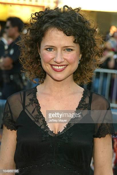 Jean Louisa Kelly during Daredevil Premiere Los Angeles at Mann Village Theater in Westwood California United States