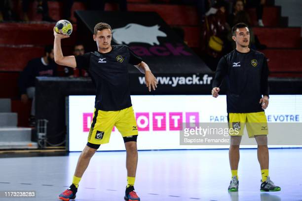 Jean Loup FAUSTIN of Chambery during the French Lidl Starligue Handball match between Ivry and Chambery on October 2 2019 in IvrysurSeine France