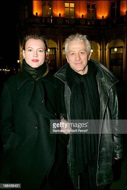 Jean Luc Moreau and Mathilde Penin at Amities Sinceres Performed By Bernard Murat And Michel Leeb At Edward VII Theatre