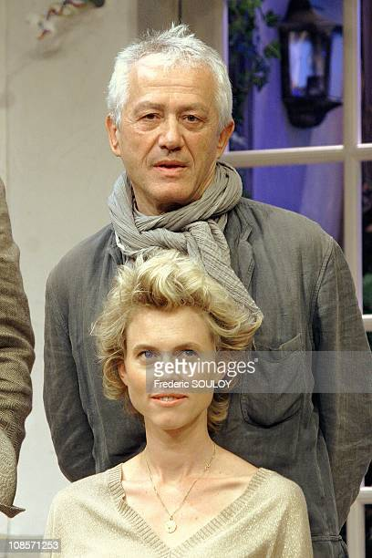 Jean Luc Moreau and Mathilde Penin at the Theatre SaintGeorges in Paris France on September 5 2007