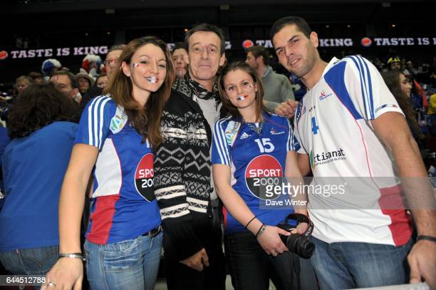 Jean Luc REICHMANN / Supporters France Suede / France 1/2 Finale Championnat du Monde Handball 2011 Malmoe Photo Dave Winter / Icon Sport