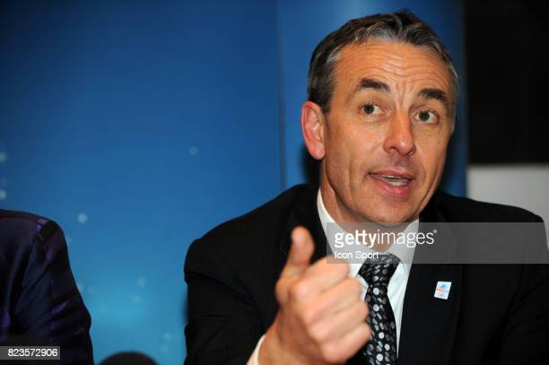 Jean Luc Rigaut - - Fondation du groupement d'interet public - Nomination de Charles Beigbeder comme president du Comite de candidature d'Annecy pour...