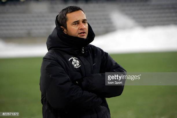 Jean Luc VANNUCHI Paris FC / Creteil 19eme journee de National Stade Charlety