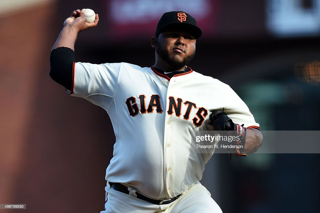 Division Series - Washington Nationals v San Francisco Giants - Game Three : News Photo