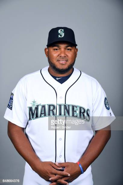 Jean Machi of the Seattle Mariners poses during Photo Day on Monday February 20 2017 at Peoria Sports Complex in Peoria Arizona