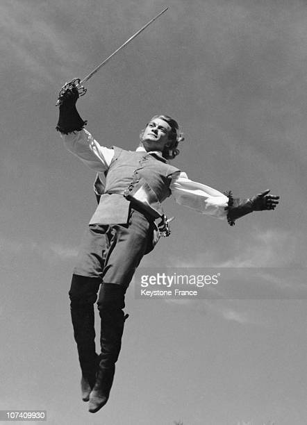 Jean Marais In Andre Hunebelle Screenplay Le Bossu On August 17Th 1959