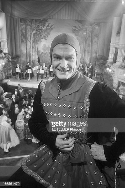 Jean Marais In 'Le Comte De Monte Cristo' Directed By Robert Vernay In 1957 Aux studios de BoulogneBillancourt le 19 septembre 1957 L'acteur Jean...