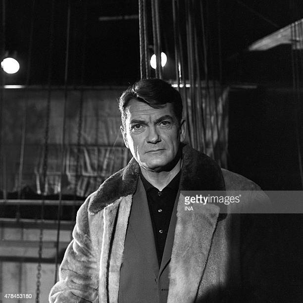 Jean Marais in the program ''The right number''